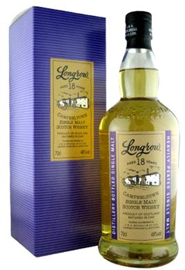 Longrow Single Malt Scotch 18 Year Old